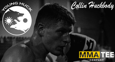 Collin Huckbody Signs with MMA Tee Company Ahead of CFFC Title Defense - Fight Tees Now Available