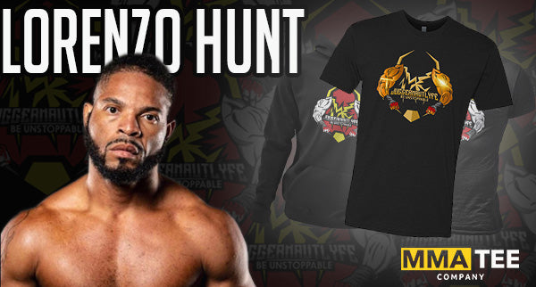 Lorenzo Hunt Returns to the Squared Circle at BKFC 17 - 2021 Fight Tees Now Available
