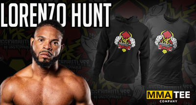 MMA Tee Company Signs BKFC's Lorenzo Hunt - Feb 5th Fight Tees Now on Sale
