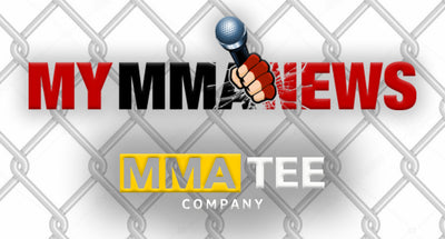 My MMA News Partners with MMA Tee Company