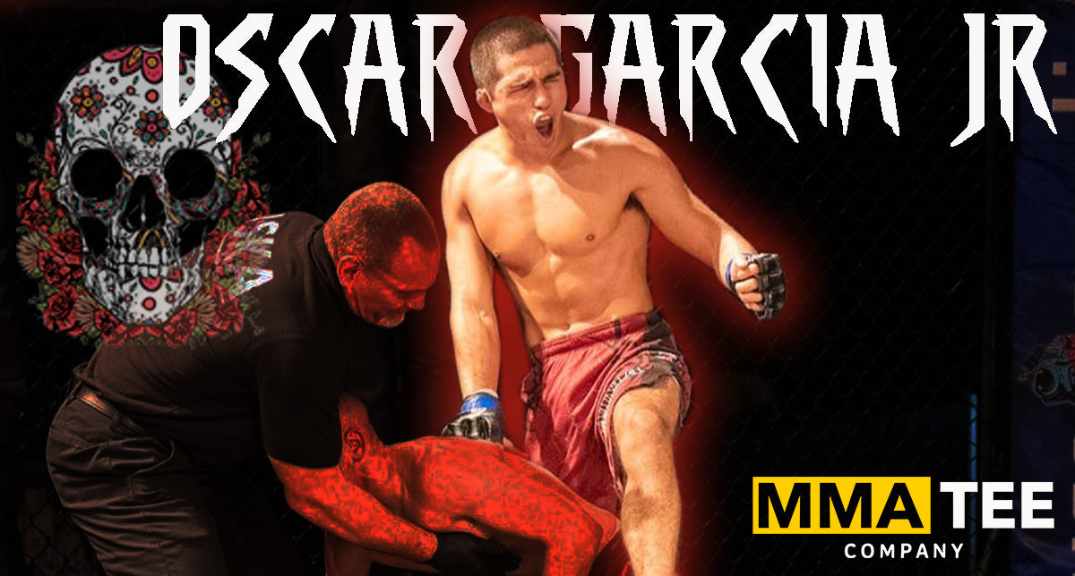 Oscar Garcia Signs with MMA Tee Company