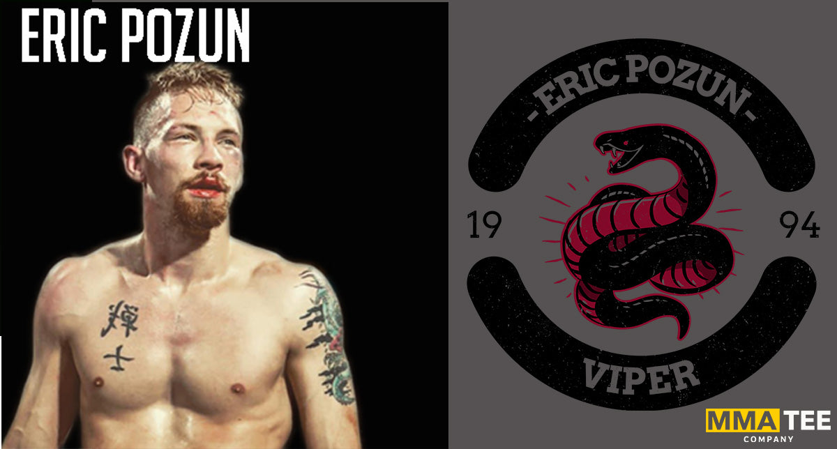 Eric Pozun Set to Fight in Pittsburgh on November 25th - Fight Tees Now Available!