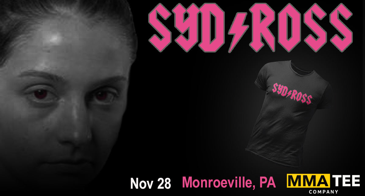 Sydney Ross Returns to the Cage on November 28th - Fight Merch Now Available!