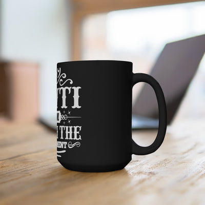 IAWTI Black Mug 15oz