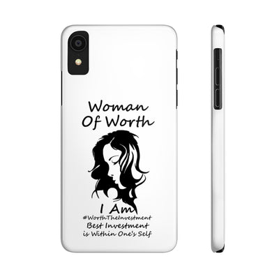 Woman Of Worth Phone Cases