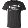 Thank God Youth Jersey Short Sleeve T-Shirt