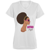 WOW Afro Ladies' Wicking T-Shirt