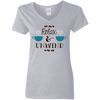 Relax and Unwind 5.3 oz. V-Neck T-Shirt