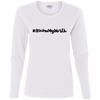 #IKnowMyWorth Cotton LS T-Shirt
