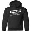 Thank God Toddler Pullover Hoodie