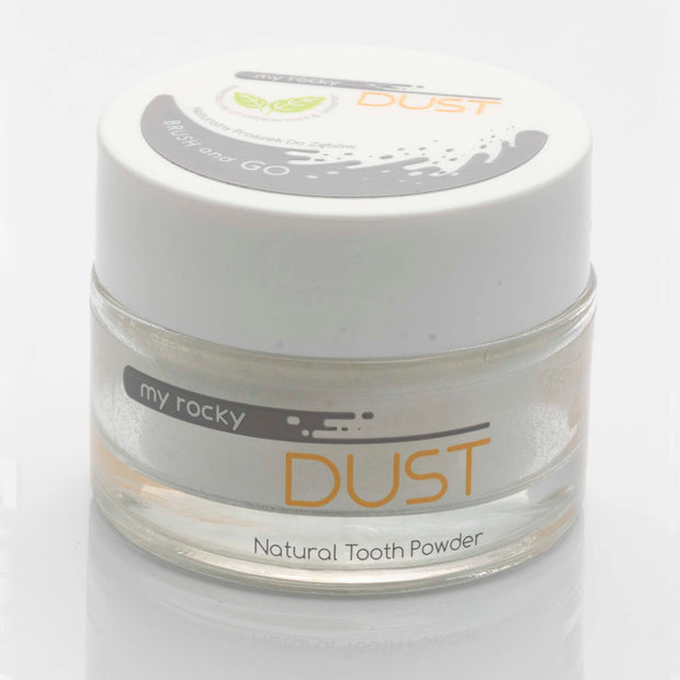 Mint Natural Tooth Powder, Fluoride-Free