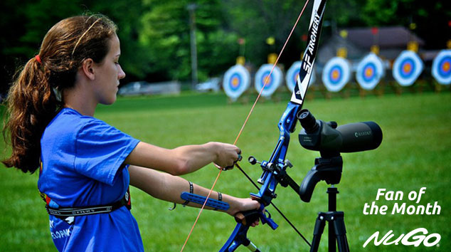 NuGo Fan of the Month:  Recurve Emma
