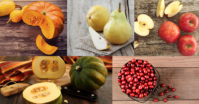 Say Goodbye to Summer Fruits and Vegetables and Hello to Our Fall Food Favorites