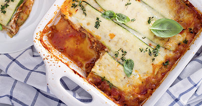 A Low Carb Spin on the Classic Lasagna Recipe