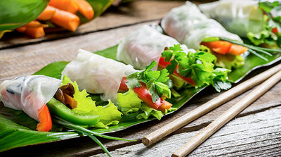 Low Carb Vegetarian Spring Rolls