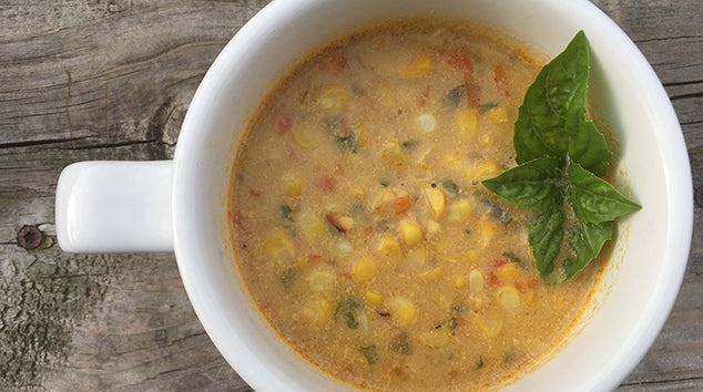 Vegan Summer Corn Chowder