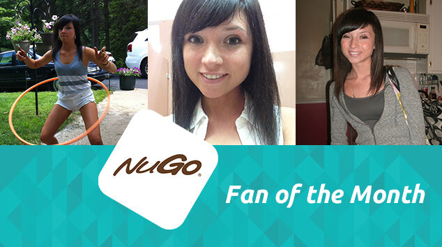 NuGo Fan of the Month: Emily Manganaro
