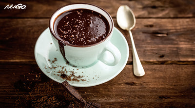 Real Dark Chocolate Hot Chocolate Recipe