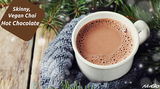 Skinny Vegan Chai Hot Chocolate
