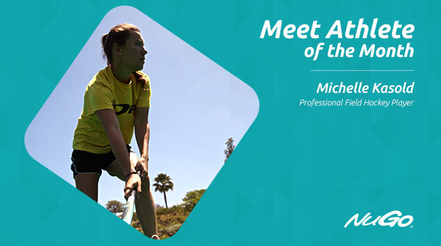 NuGo Athlete of the Month: Michelle Kasold