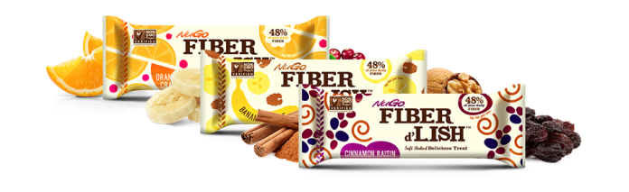 Intro Wellness raves about NuGo Fiber d'Lish bars!
