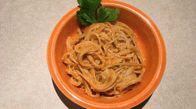 Gluten-Free and Vegan Pumpkin Pasta