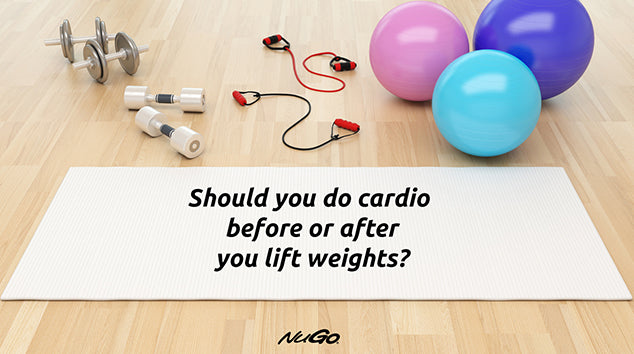 Fitness Video: Should You Do Cardio Before or After You Lift Weights?