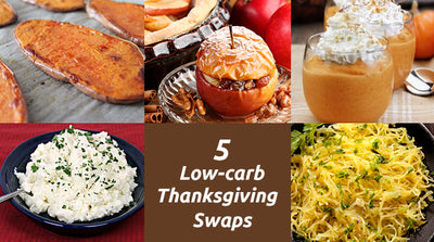 5 Low Carb Thanksgiving Swaps