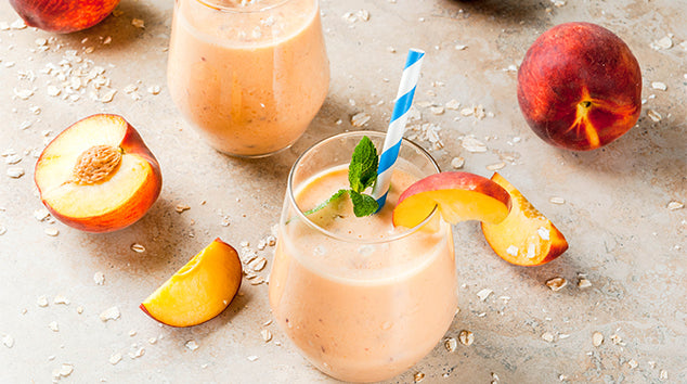 Vegan Peach Smoothie