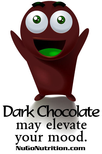 Dark Chocolate may elevate your mood.