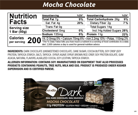 NuGo Dark Chocolate Mocha