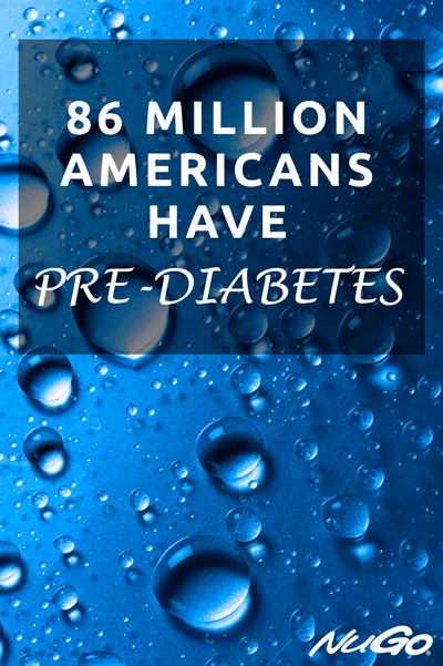 86 million Americans have prediabetes.