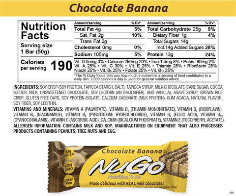 NuGo Banana Chocolate