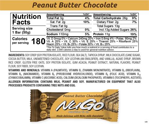 NuGo Peanut Butter Chocolate