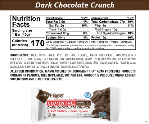 NuGo Free Dark Chocolate Crunch