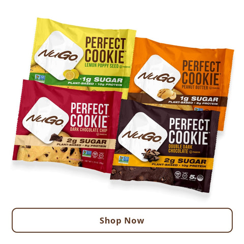NuGo Perfect Cookie Sample Pack