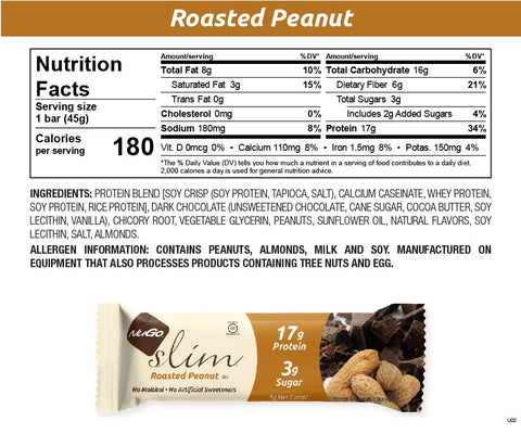NuGo Slim Roasted Peanut
