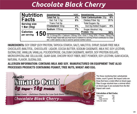 Smarte Carb Chocolate Black Cherry