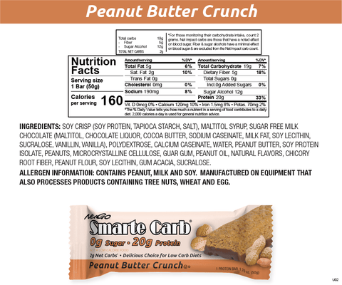 Smarte Carb Peanut Butter Crunch