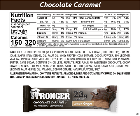 NuGo Stronger Chocolate Carmel