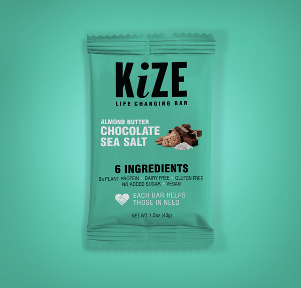Kize Almond Butter Chocolate Sea Salt