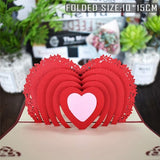 Love 3D Pop UP Cards