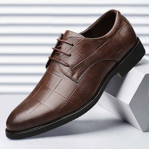 hommes cuir chaussures formelles