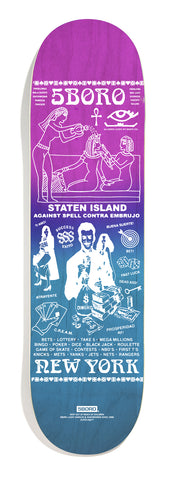5B              LUCKY CANDLE STATEN ISLAND  Purple 8.25
