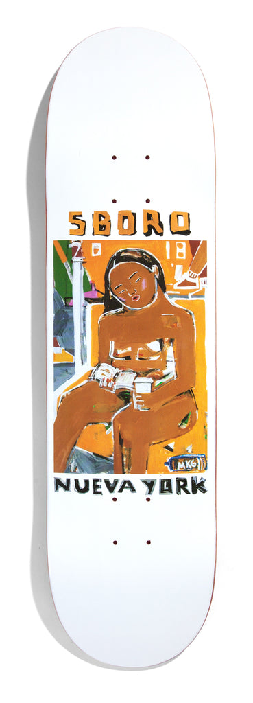 "5Boro Nueva York Series Subway Girl Model 8.25"" Artwork my Monica Kim Garza"