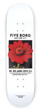 5Boro Flower Seed Red Skateboard Deck
