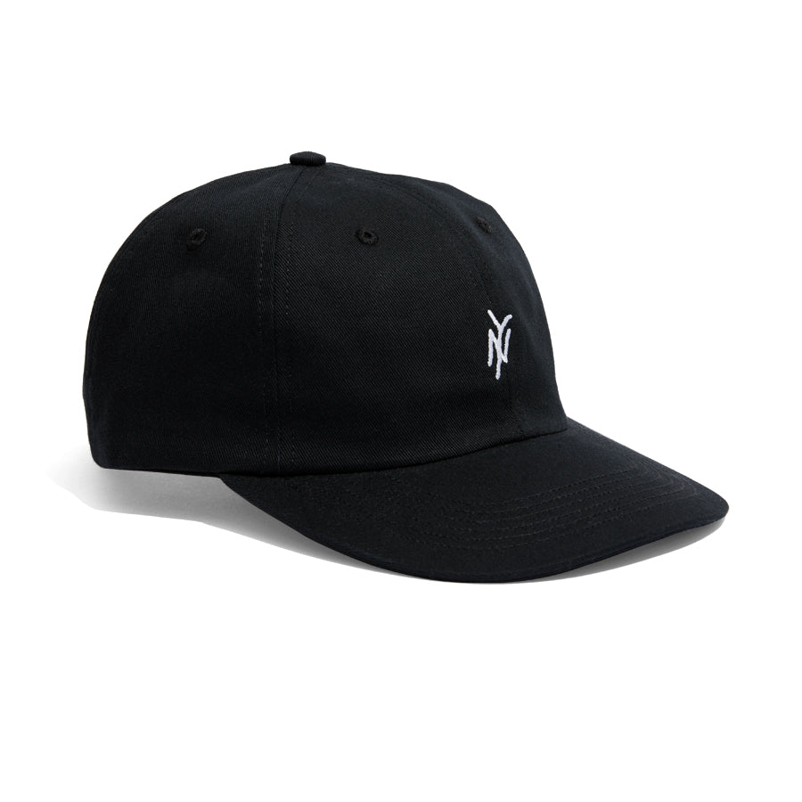 5Boro embroidered NY Logo Hat Black Twill fabric with adjustable closure