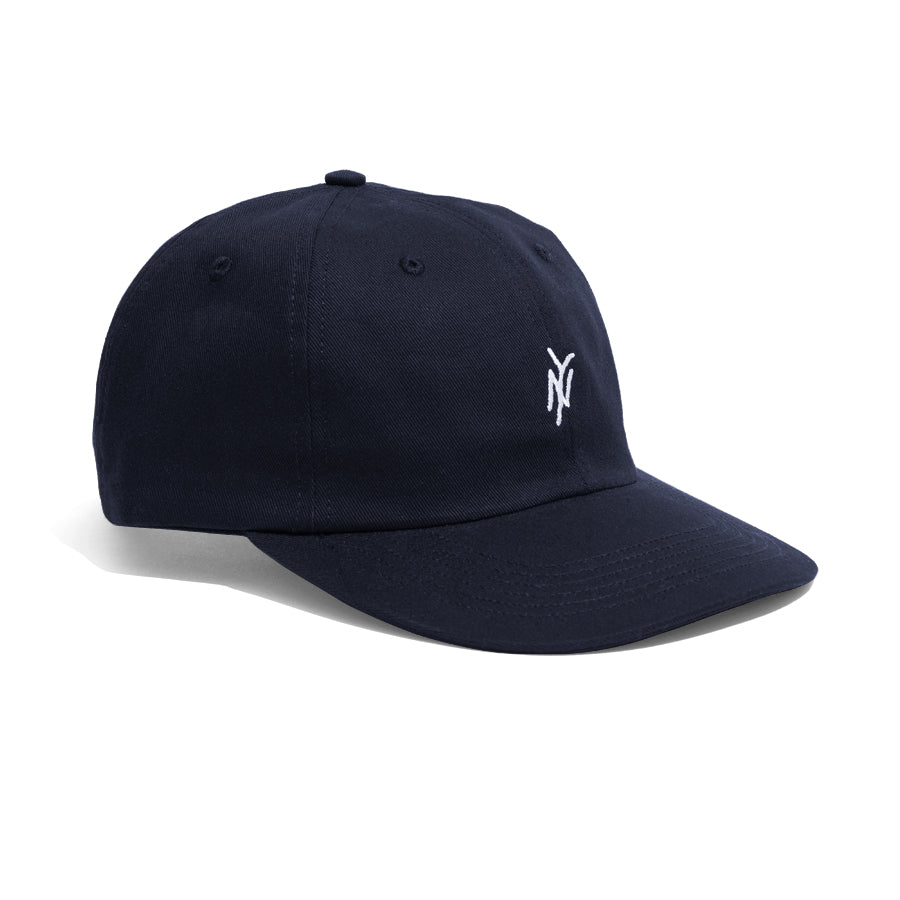 5Boro embroidered NY Logo Hat Navy Twill fabric with adjustable closure