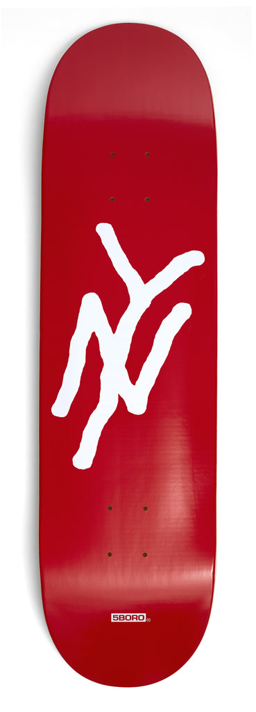 "5Boro NY Logo Red 8.25"" Wide"
