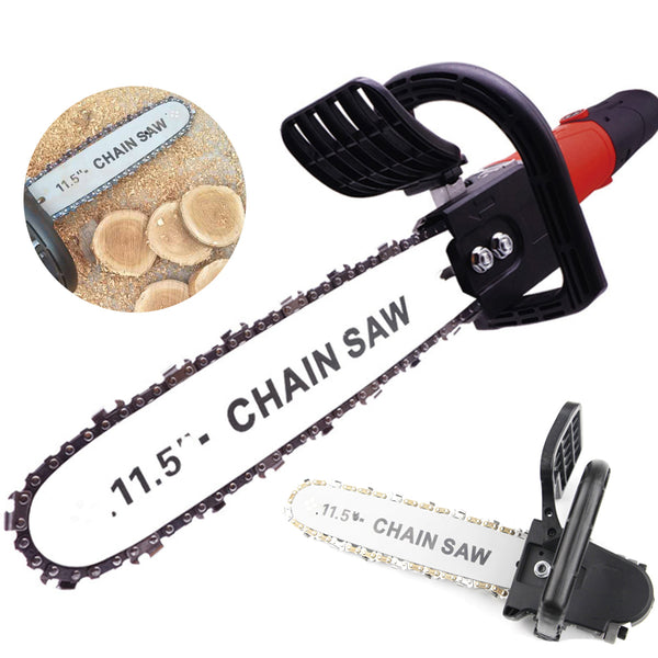 Bunyon™ 11.5 Inch Chainsaw Bracket Woodworking 100 Angle Grinder Into Chain Saw